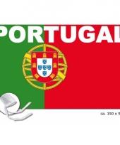 Landen supporter vlag portugal