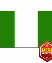 Landen vlag van nigeria
