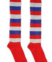 Lange voetbal feest sokken