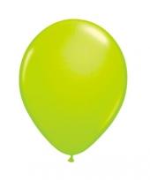Latex ballon neon groen 8 stuks