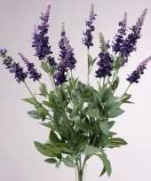 Lavendel kunstbloemen 45 cm