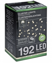 Led clusterverlichting warm wit 4 5 m 10076103