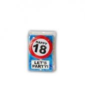 Leeftijd ansichtkaart 18 jaar