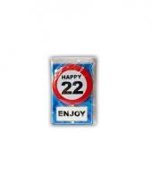 Leeftijd ansichtkaart 22 jaar