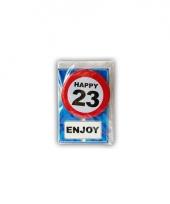 Leeftijd ansichtkaart 23 jaar