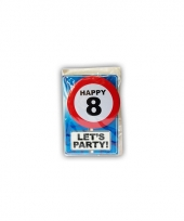 Leeftijd ansichtkaart 8 jaar
