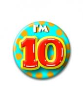 Leeftijd button 10 jaar