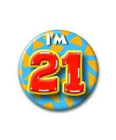 Leeftijd button 21 jaar