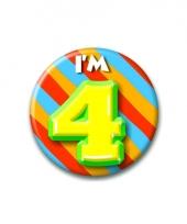 Leeftijd button 4 jaar
