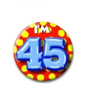 Leeftijd button 45 jaar