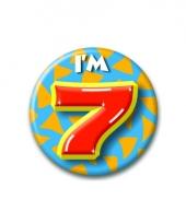 Leeftijd button 7 jaar