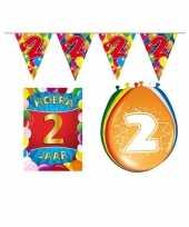 Leeftijd feestartikelen 2 jaar voordeel pakket