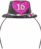 Leeftijd feestartikelen tiara 16 jaar 10063476