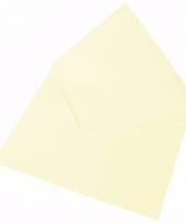 Lege enveloppen ivoor 5 stuks