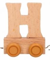 Letter speegoed treintje h