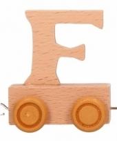 Letter speelgoed treintje f
