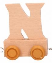 Letter speelgoed treintje n