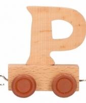 Letter speelgoed treintje p