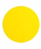 Lichaam en gezicht schmink neon geel