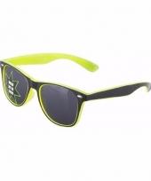 Lichtgevende gele brillen