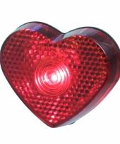 Liefdes lampje rood hart 5 cm