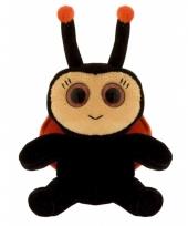 Lieveheersbeestje knuffeltje 21 cm