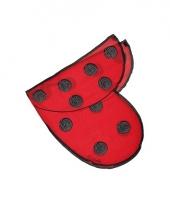 Lieveheersbeestje vleugels voor kids