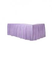 Lila paarse tafel randen