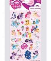 Little pony stickervelletje bubbel