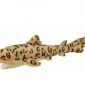 Luipaard haai van pluche 60 cm