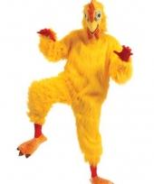 Luxe dieren kostuum haan