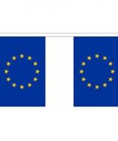 Luxe europese vlaggenlijn 3 meter