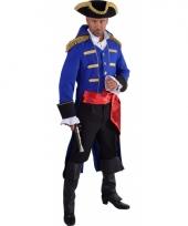Luxe historisch carnavalskostuum piraat 10064073