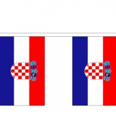 Luxe kroatie vlaggenlijn 3 meter