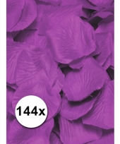 Luxe lila rozenblaadjes