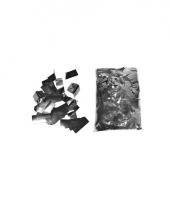 Luxe metallic zilveren confetti snippers