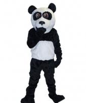 Luxe panda beer mascotte