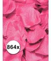 Luxe rozenblaadjes roze 6 zakjes