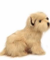Luxe terrier knuffel 23 cm