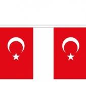 Luxe turkse vlaggenlijn 3 meter