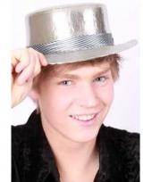 Luxe zilveren hoedje