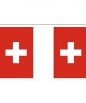 Luxe zwitserse vlaggenlijn 3 meter