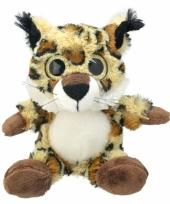 Lynx knuffeltje 21 cm