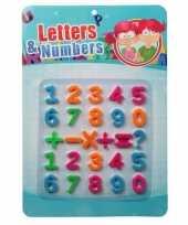 Magnetische gekleurde cijfers en tekens