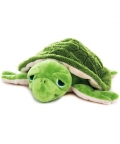 Magnetron groene schildpad knuffeldier