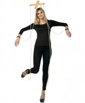 Marionette pop verkleedkleding