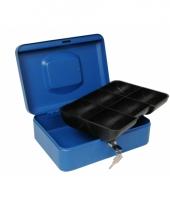 Marktkluisje blauw 25 cm