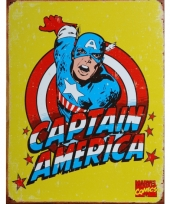 Marvel plaat captain america