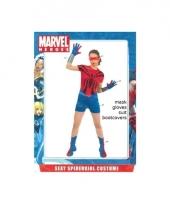 Marvel spider girl kostuum voor dames