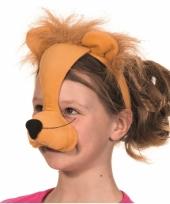 Masker leeuw met geluid